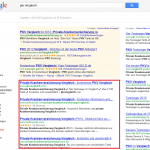 Screenshot SEO